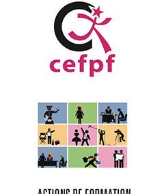 2020 stage AFDASS au CEFPF Comédiens face à la caméra.