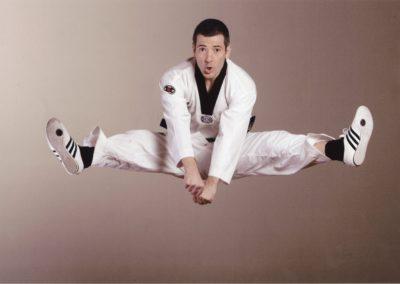 Taekwondo (ceinture noire 1er Dan)