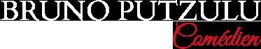 Bruno Putzulu Logo Blanc