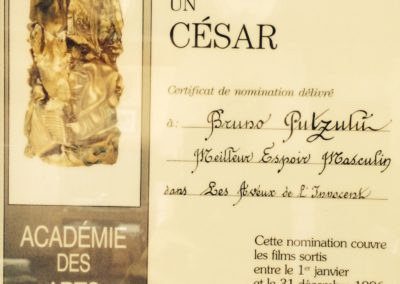 1997 – Nomination au César pour « Les Aveux de l'Innocent »