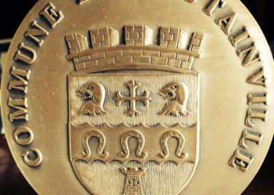 2009 – Médaille de la commune de Toutainville
