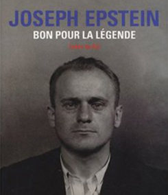 2007 – Joseph Epstein, bon pour la légende