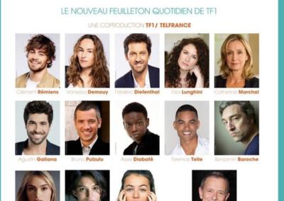2020 : Série « Ici tout commence ». Réalisation Christophe Barraud / Débastien Perroy